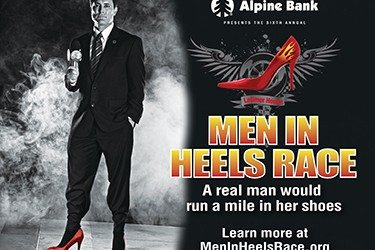 Alpine Bank Presents the 7th Annual Men in Heels Race